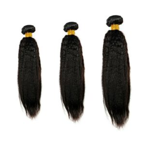 Kinky Straight Hair Bundle Deals